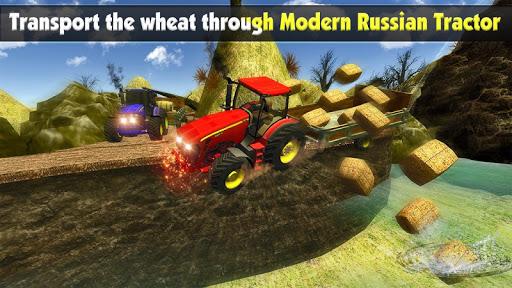Rural Farm Tractor 3d Simulator - Tractor Games 3.2 screenshots 3