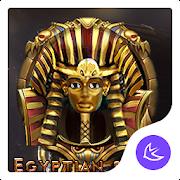 Egypt Scenery Gold Mystery theme-APUS theme