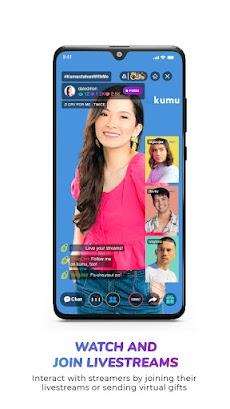 Kumu - Pinoy Livestream, Gameshow and Communityのおすすめ画像2