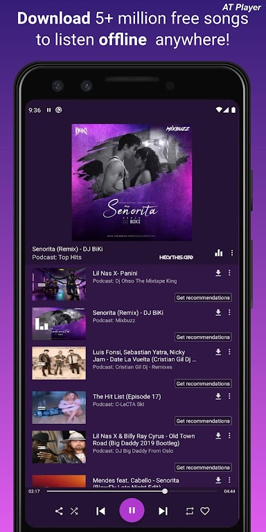 Free Music Downloader Download MP3. YouTube Player  poster 2