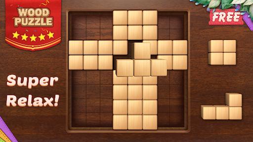 Wood Block Puzzle 3D - Classic Wood Block Puzzle apktram screenshots 12