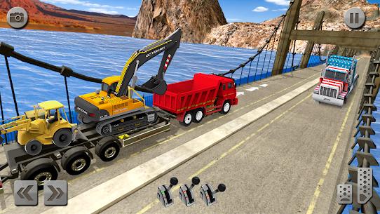 Sand Excavator Simulator 2021: Truck Driving Games 10