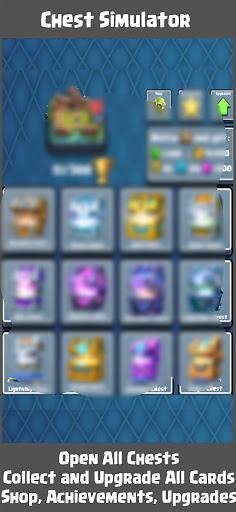 Chest Simulator Clicker for CR  screenshots 5