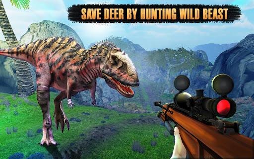 Dinosaurs Hunter Wild Jungle Animals Safari 3.4 screenshots 6
