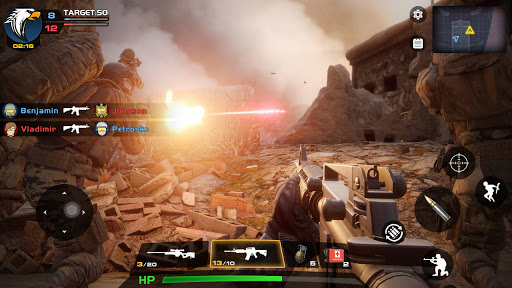 Critical Action :Gun Strike Ops - Shooting Game  screenshots 10