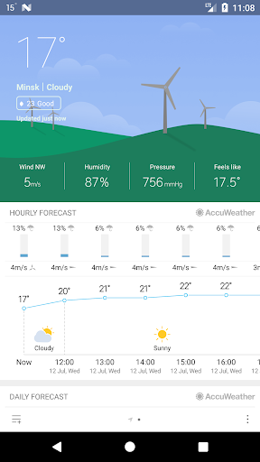 Weather Mate (Weather M8) 1.6.7 Screenshots 1