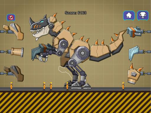 Desert T-Rex Robot Dino Army screenshots 9