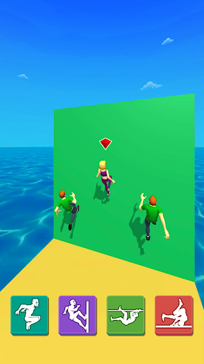 Parkour Race: Epic Run 3D screenshots 3