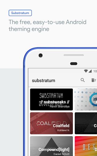 substratum theme engine one thousand twenty two Screenshots 1