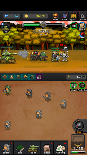 Grow Soldier - Idle Merge game 3.7.0 screenshots 17