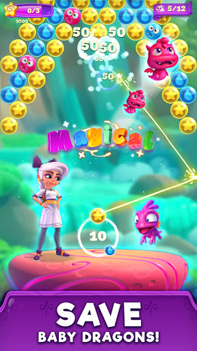 Lunau2019s Quest Bubble Shooter 1.0.2 screenshots 1