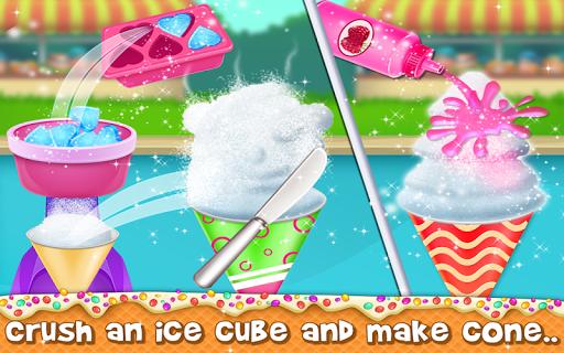 snow cone maker - yummy slushy summer food screenshot 2