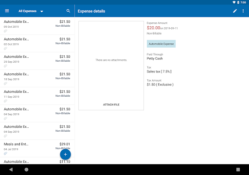 Zoho Invoice - Online Invoicing & Billing Software 5.23.09 Screenshots 11