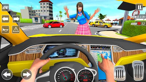 Taxi Driving Simulator City Car New Games 2021 0.3 screenshots 9