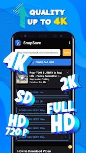 Video Downloader for Facebook FullHD 4K - SnapSave 1.0.7-arm64-v8a