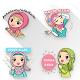Stiker Wa Hijab Muslim Cantik Lucu WAStickerApps para PC Windows