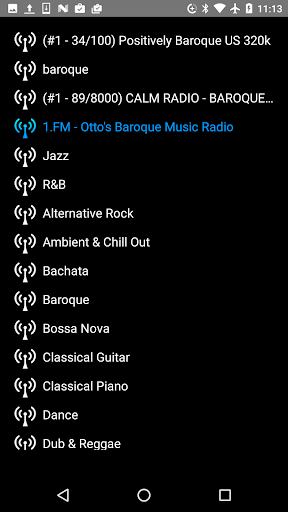 baroque music - internet radio screenshot 2
