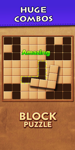 Wood Block Puzzle - Top Classic Free Puzzle Game 26 screenshots 5