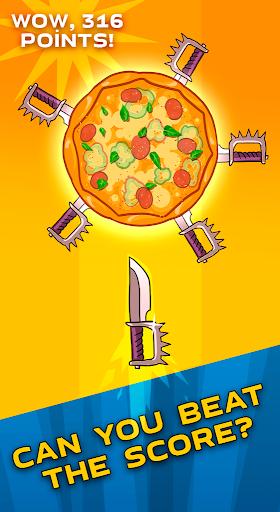 food cut  - knife throwing game screenshot 3