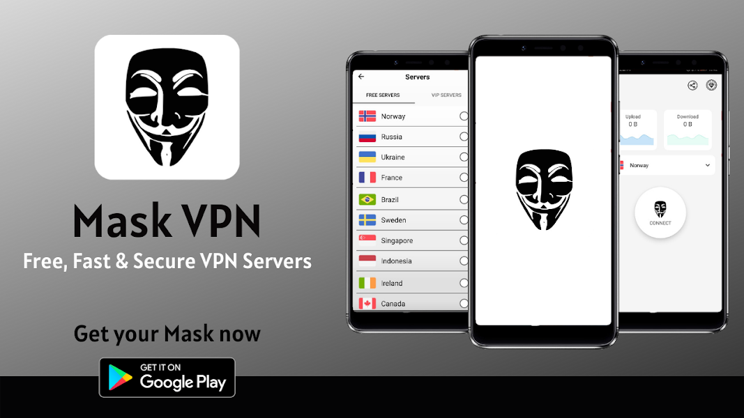 Mask VPN - Free Fast and Secure VPN Proxy Server