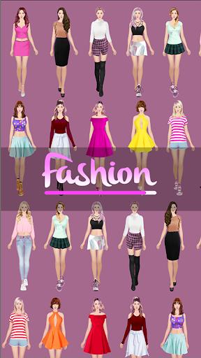 Fashion Game: Girl Dress android2mod screenshots 1