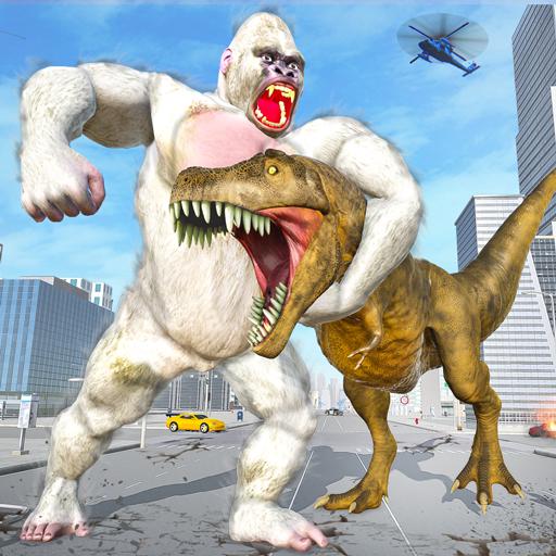 Extreme City Dinosaur Smasher 3D City Riots