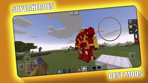 Avengers Superheroes Mod for Minecraft PE - MCPE 2.2.0 Screenshots 1
