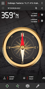 Compass (with flashlight & air quality)