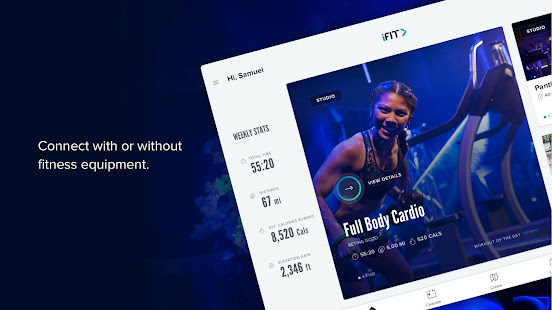 iFIT: At Home Fitness Coach. Workout Tracker. HIIT 2.6.64 Screenshots 10