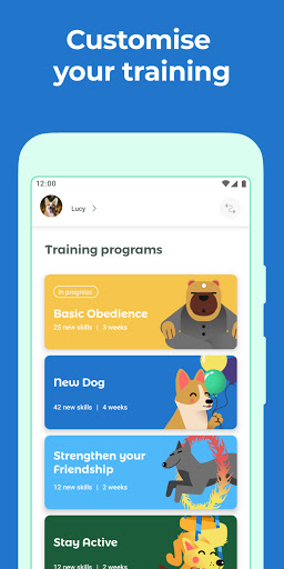 Dog & Puppy Training App with Clicker by Dogo