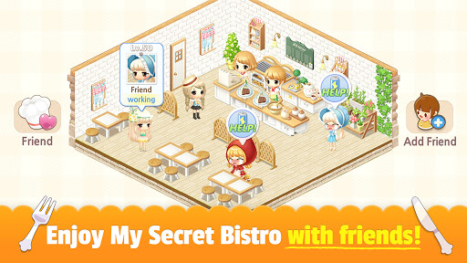 My Secret Bistro - Play cooking game with friends 1.8.6 screenshots 7