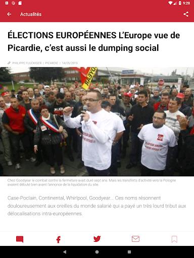 Courrier Picard : l'info locale, France et monde 5.19.2 screenshots 7