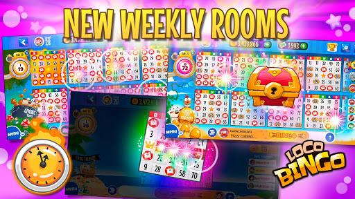 Loco Bingo: Bet gold! Mega chat & USA VIP lottery 2.62.0 screenshots 3