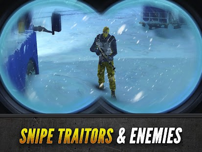 Sniper Fury: Online 3D FPS & Sniper Shooter Game Screenshot