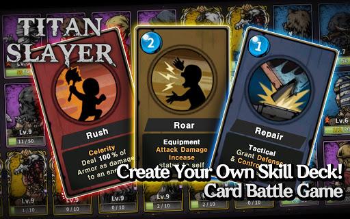 Titan Slayer: Roguelike Strategy Card Game apktram screenshots 1