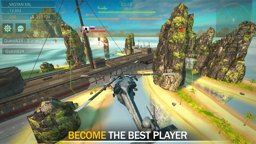 Gunship Force: Free Helicopter Games Attack 3D  screenshots 12