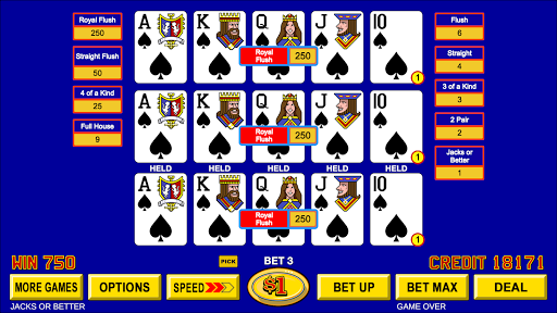 Video Poker - Classic Casino Games Free Offline 1.5.0 screenshots 4