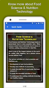 Food Science & Nutrition Technology – Food Tech 1.0.3 Apk + Mod 5