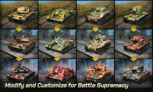 Tank Legion PvP MMO 3D tank game for free apkslow screenshots 4