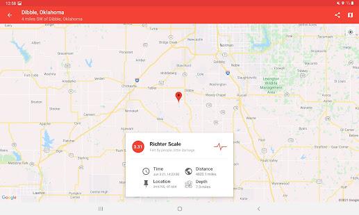 My Earthquake Alerts - US & Worldwide Earthquakes 4.2.2 Screenshots 6