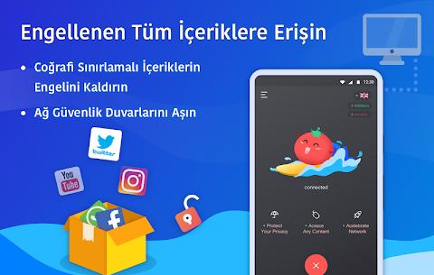 Ücretsiz VPN Tomato | En Hızlı Ücretsiz VPN Proxy Apk Son Sürüm 2021 3