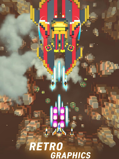 Sky Wings: Pixel Fighter 3D apktram screenshots 12