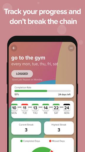 lvlup - habit trainer  screenshots 3