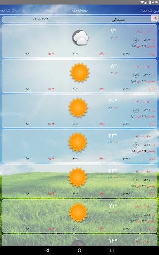 Kurdistan Weather- Kash u06a9u0648u0631u062fu06cc  Screenshots 13