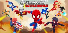 Stickman Fight - Battle Royaleのおすすめ画像1