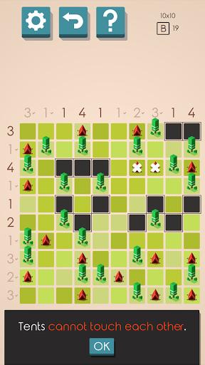 Tents and Trees Puzzles 1.6.26 screenshots 2