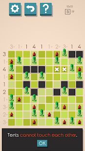 Tents and Trees Puzzles Screenshot