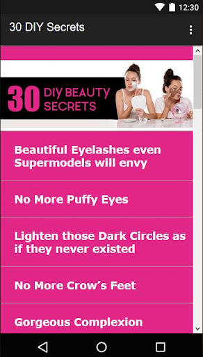 30 Beauty Secrets for Women  Screenshots 2