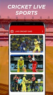 Free GHD SPORTS – Free Cricket Live TV GHD Guide Apk Download 2021 3
