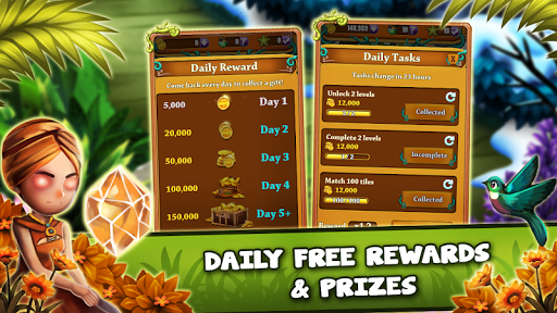Match 3 Jungle Treasure u2013 Forgotten Jewels android2mod screenshots 12